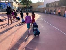 Foto 7 - Más de 7.000 sorianos vuelven hoy al 'cole' en el tercer curso en pandemia