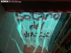 Diferentes imágenes del scape room.