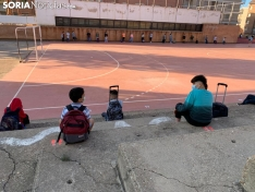 Foto 3 - Más de 7.000 sorianos vuelven hoy al 'cole' en el tercer curso en pandemia