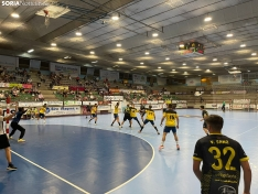 Imágenes del partido entre el Villa de Aranda y el BM Soria.