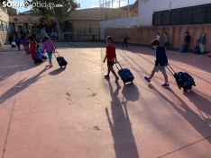 Foto 9 - Más de 7.000 sorianos vuelven hoy al 'cole' en el tercer curso en pandemia