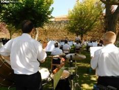 Una imagen del concierto ofrecido por la agrupación musical adnamantina. /SN