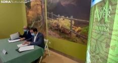 Firma del acuerdo entre las partes implicadas. /SN
