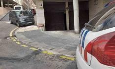 Susto en la calle Cortes