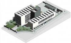 Imagen del futuro edificio, según el proyecto.