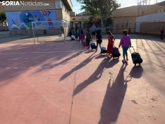 Foto 8 - Más de 7.000 sorianos vuelven hoy al 'cole' en el tercer curso en pandemia