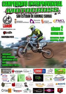 El Campeonato autonómico de Motocross tendrá parada en San Esteban de Gormaz