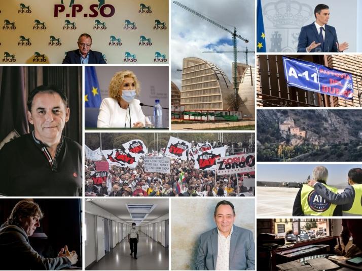 Vuelta al curso político en Soria con muchos deberes por hacer