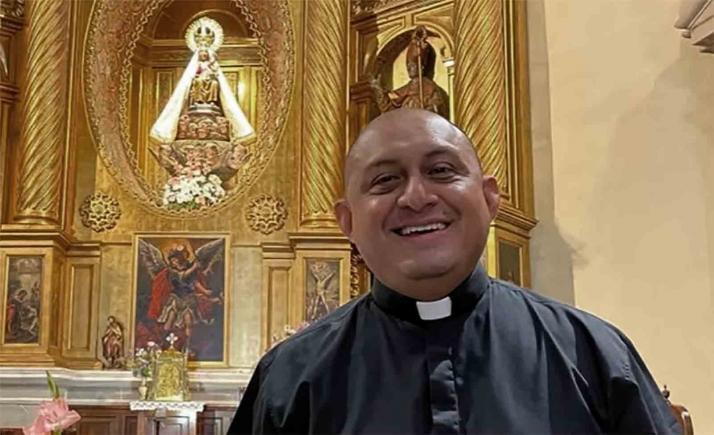 Álvaro Chávez, nuevo párroco de Ágreda
