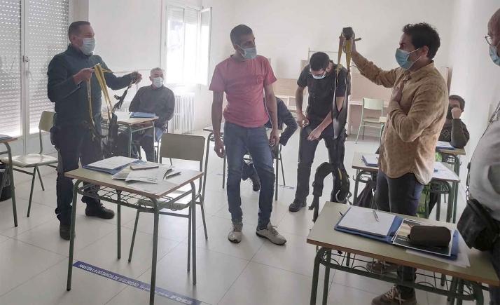 FOES celebra una nueva edición del curso 'Seguridad en trabajos en altura'