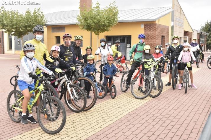 GALERÍA: El Día de la Bici arranca la Semana Deportiva de Golmayo