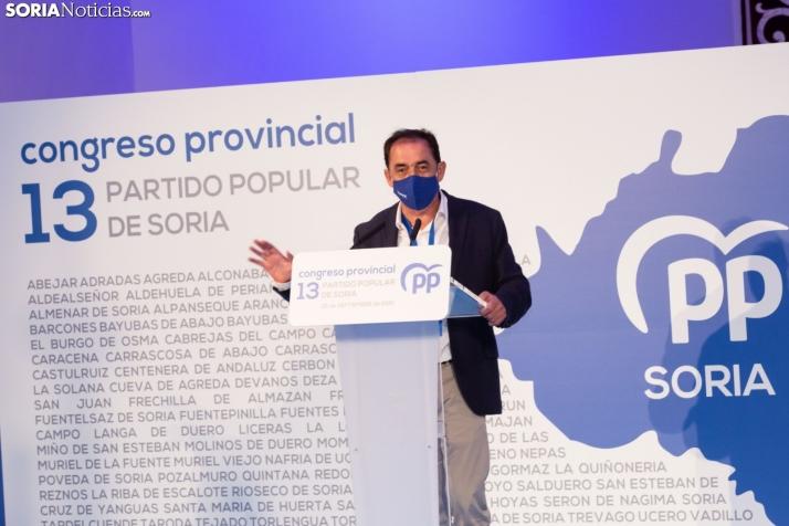 Entrevista a Benito Serrano: 'Reclamo para el PP los votos de la PPSO, Ciudadanos y Vox y también los desencantados del PSOE'