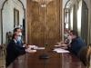 Reunión con representantes del Ministerio de Cultura.