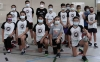 Componentes de la Escuela del Club Soria Baloncesto que están integrados en las selecciones provinciales PRD. /CSB
