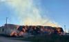 Una imagen del fuego antes de la llegada de los medios de extinción. /SN