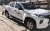 El vehículo en las inmediaciones del ayuntamiento. /AO