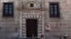 Entrada principal al edificio de la Delegación de Hacienda. /SN