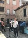 Concentración en Duruelo contra el nuevo mirador de Castroviejo.