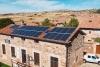 Instalación fotovoltaica en Castilfrío de la Sierra.
