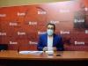Javier Muñoz, hoy, en rueda de prensa.