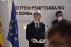 El Ministro de Interior Grande Marlaska, en la inauguración de la carcel en julio. SN