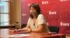 Gloria Gonzalo, concejal de Igualdad en el Ayuntamiento de Soria.