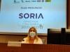 Yolanda de Gregorio, en la presentación del Plan Soria 21-27.