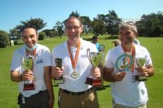 Ande Soria en el Campeonato de España de Golf.