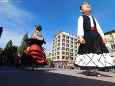 La plaza de Mariano Granados, este mediodía de domingo. /SN