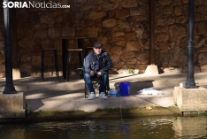 Foto 3 - Galería de imágenes: Fernando Bañuelos gana el concurso de pesca de ciprínidos de San Saturio