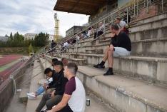 Foto 3 - Galería: los aficionados sorianos al rugby se reencuentran con su deporte y con su equipo, el Ingenieros Soria