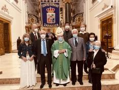 Zaragoza celebra San Saturio