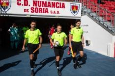 Numancia 3-1 Huesca B / María Ferrer