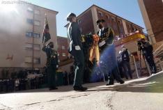 Una imagen de la celebración de la Patrona de la GC en la Comandancia de Soria. /SN