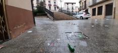 Foto 3 - Calles sucias en Ágreda tras la fiesta