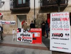 """Foto 3 - Concentración simbólica de Soria ¡Ya!: """"Nuestra ideología es Soria y los sorianos"""""""