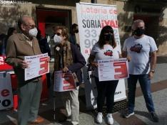 """Concentración simbólica de Soria ¡Ya!: """"Nuestra ideología es Soria y los soria"""