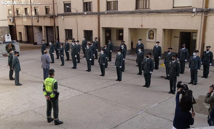 32 guardias civiles se incorporan a sus destinos en la provincia de Soria