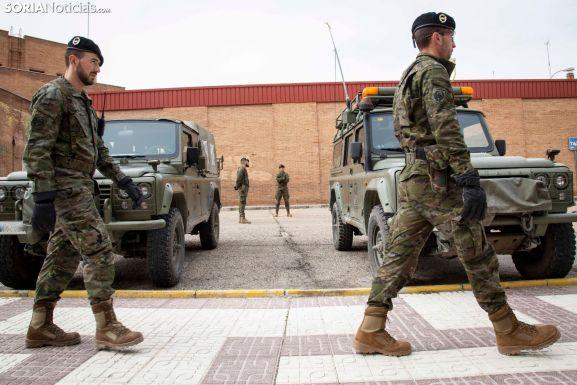 Exhibición del Centro Logístico Militar del Ejército de Tierra en Ólvega