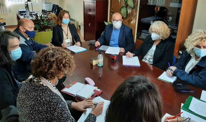 Reunión del Consejo Social Penienciario Local de Soria